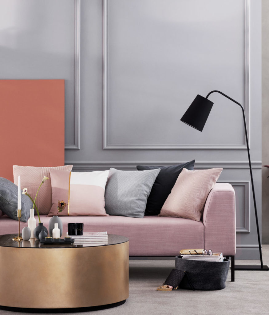 Its important to pair it with the right colors to achieve the character you desire white is always a great color to pair with pink because it neutralizes