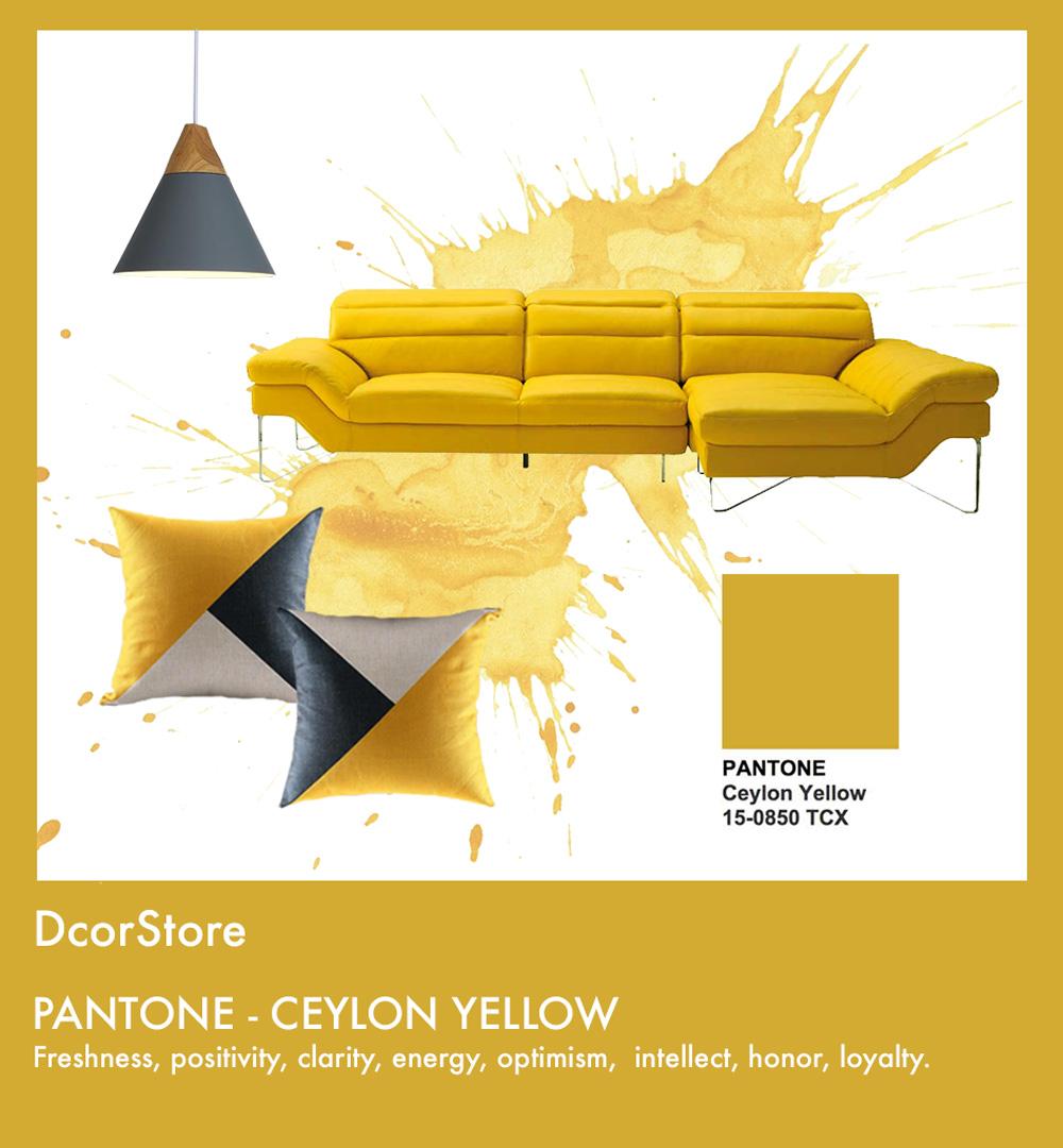 Interior Design Color Trends 2018. Fall - Winter - DcorStore.